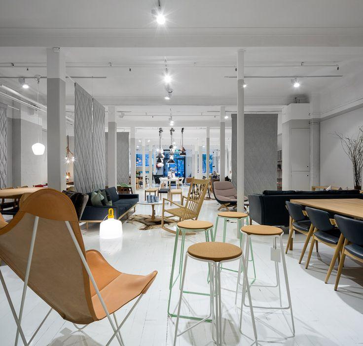 Great Dane Showroom in Sydney designed by McCartney Design.