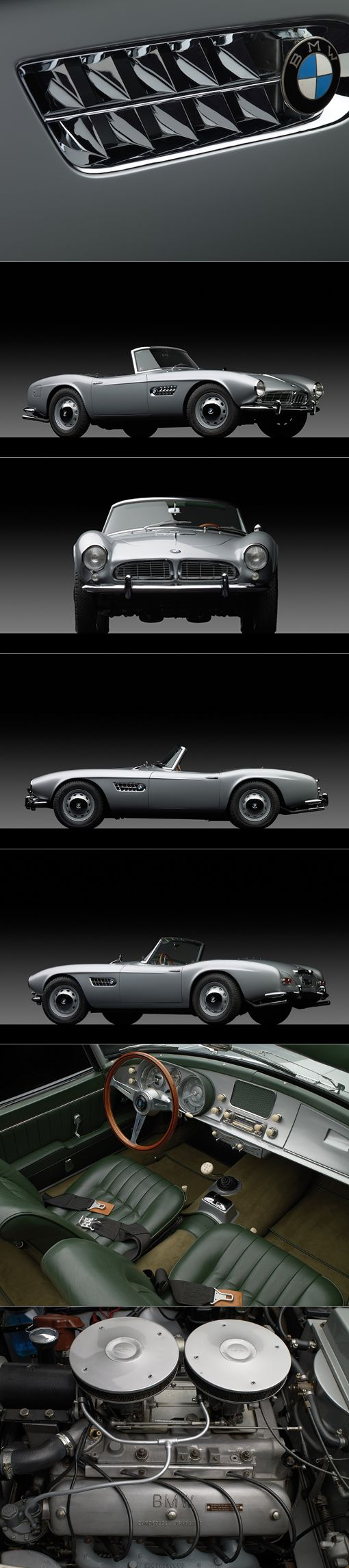 1958 BMW 507 / Germany / silver / Photography: Michael Fuhrmann
