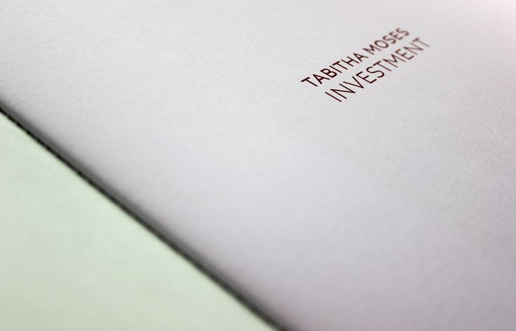Title page of Investment exhibition catalogue. Click the link to buy it. £5.50 + postage.