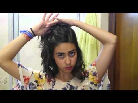 7 PEINADOS FACILES Y ORIGINALES PARA CABELLO CORTO :) - YouTube