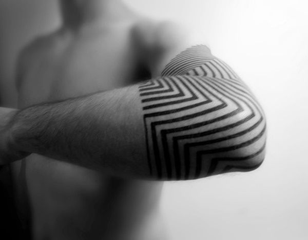 Some of the top notch geometric tattoos