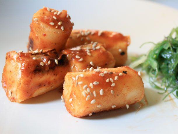 Korean Rice Cakes (Dok Boki) | Serious Eats : Recipes I miss me some Korean food!!M