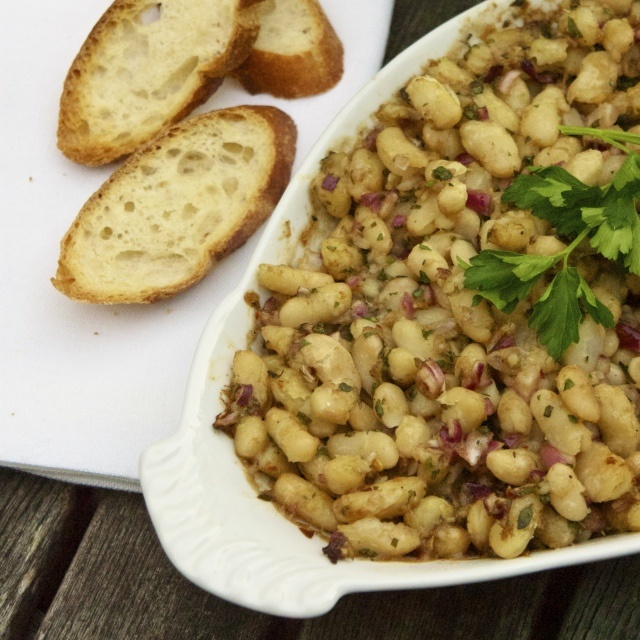 White beans, Beans and Pork on Pinterest