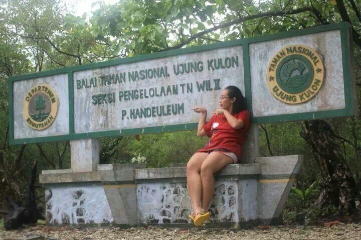 Pulau Handeleum, Ujung Kulon - 31 Desember 2013