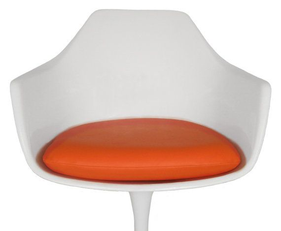 Vinyl Replacement Cushion For Saarinen Or Burke Tulip Arm Chair   Many  Colors Available