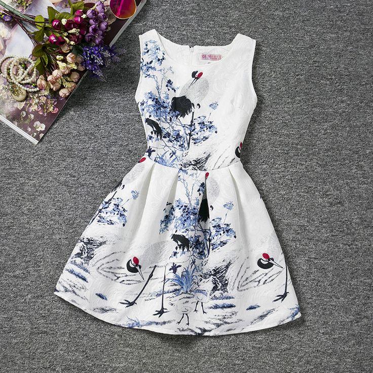 $15.58 (Buy here: https://alitems.com/g/1e8d114494ebda23ff8b16525dc3e8/?i=5&ulp=https%3A%2F%2Fwww.aliexpress.com%2Fitem%2FGirls-dress-Summer-Dresses-Vestidos-Kids-Roupas-infantis-menina-Girl-Jurken-Printing-sleeveless-Elbise-classical-style%2F32689483522.html ) Girls dress Summer Dresses Vestidos Kids Roupas infantis menina Girl Jurken Printing sleeveless Elbise classical style pattern for just $15.58