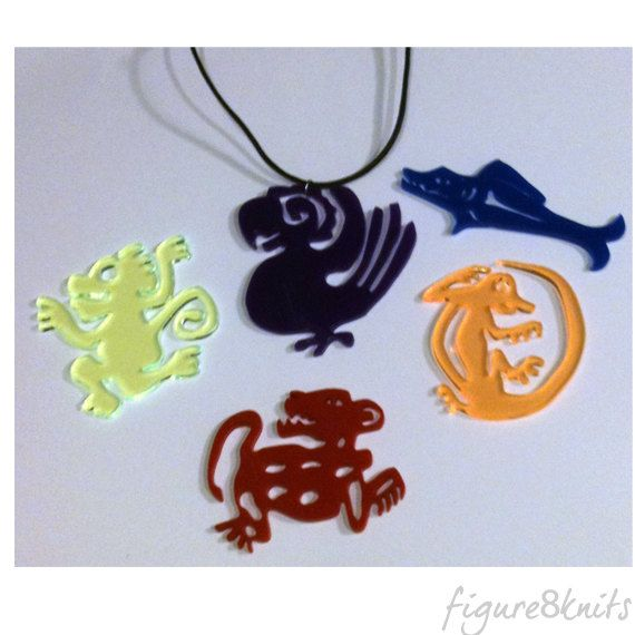 Legends of The Hidden Temple Pendant 90's TV show by figure8lasers