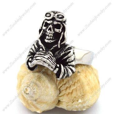 r002816 Item No. : r002816 Market Price : US$ 30.60 Sales Price : US$ 3.06 Category : Skull Rings