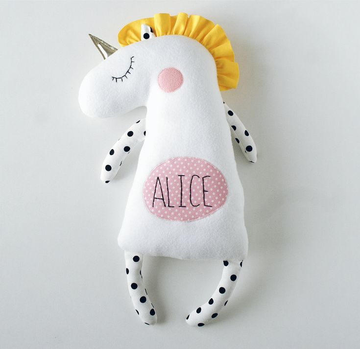 Best 25 personalized birthday gifts ideas on pinterest crafty personalized baby gifts personalized unicorn plush unicorn birthday party unicorn for baby shower unicorn for babies negle Gallery