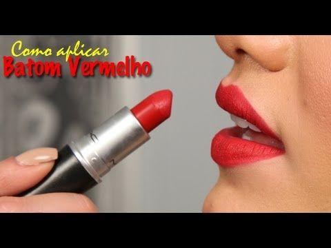 Como aplicar batom vermelho! - Camila Coelho