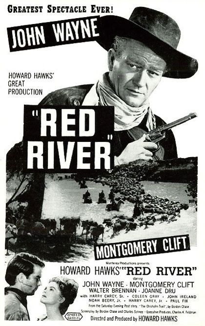an essay on the movie red river by howard hawks Why is howard hawks so revered the big sleep (1946), red river (1948), man's favorite sport there isn't any fluff in a hawks movie (and if there is.
