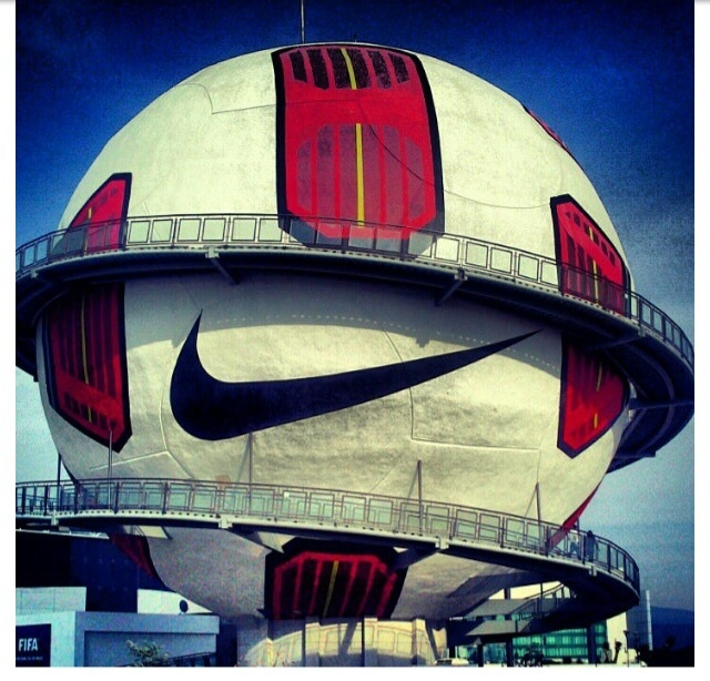 Football museum at Pachuca, Mexico. I've never wanted to go to Mexico more than I have now...
