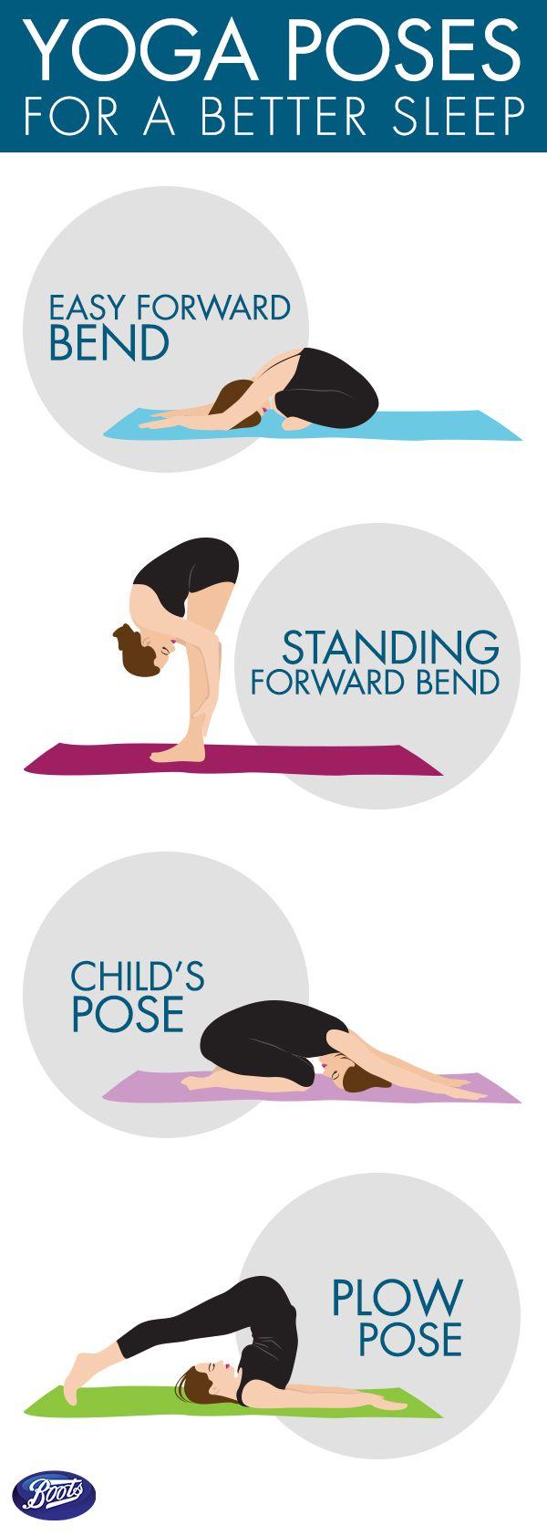 Tienen problemas para conciliar el sueño? Aquí hay 4 posiciones de yoga simples para ayudarle a dormir apagar su cerebro antes de acostarse.