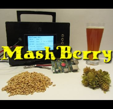 MashBerry is a Raspberry PI based beer-brewing controller. It is designed to automate the mashing-process for the homebrewer.  MashBerry can be operated via a Web-interface or via a Display and an IR-remote. The temperature is controlled using a PID-controller, the temperature-measurement is done with a PT1000 or a Dallas 18B20. For power-control an external Solid-State-Relay is used.  The whole configuration (like entering recipes, PID-Autotuning, etc.) is done via the built in…