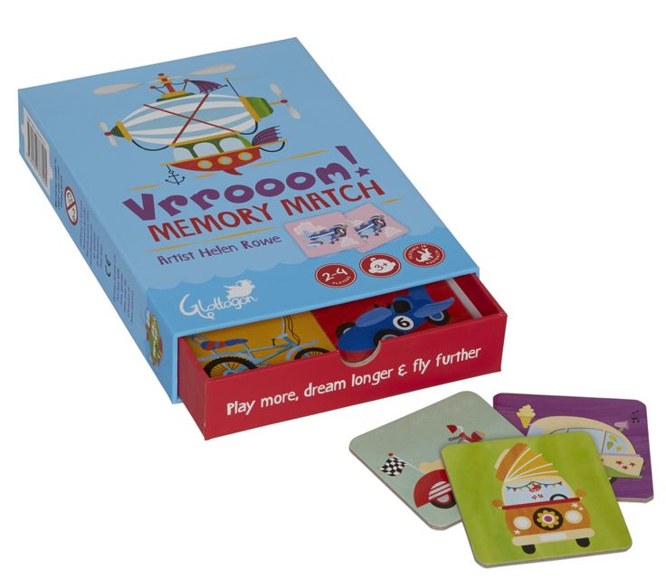 A memory game perfect for the car lover!!! Vrrooooommmm......