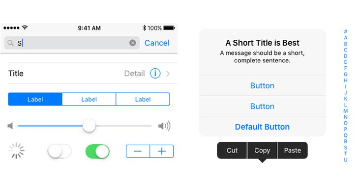 Apple rilascia nuovi modelli grafici dedicati allinterfaccia utente di iOS 10