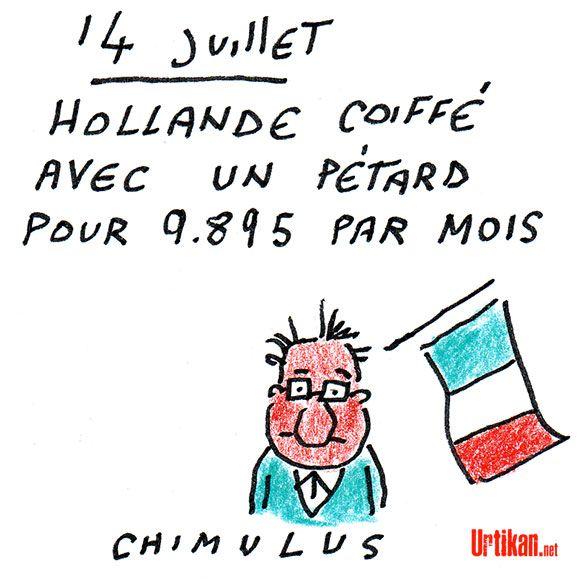 Hollande en «colère» en découvrant le salaire de son coiffeur…
