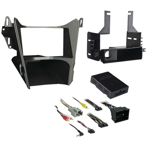 METRA 99-3308G ISO Single-DIN/Double-DIN with Pocket Installation Kit, Chevy(R) Equinox/GMC(R) Terrain 2013 & Up