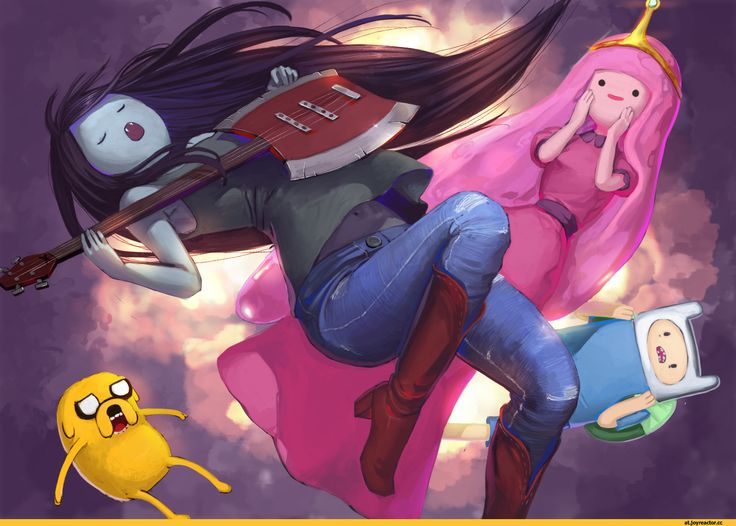 adventure time,время приключений,фэндомы,Marceline,Марселин - Королева Вампиров, Марселин,Princess Bubblegum,Бубльгум - Принцесса конфетного королевства, бубльгум, принцесса бубльгум,Finn,Финн - парнишка, Финн, Финн парнишка,Jake,Джейк - Пес, джейк,at art