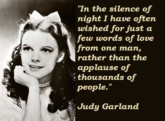 judy garland quotes - Google Search