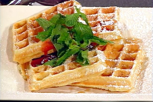 Get Classic Belgian Waffles Recipe from Food Network