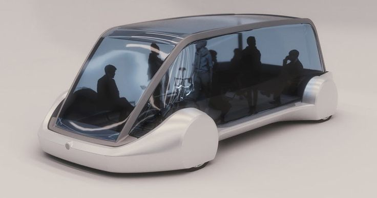 Elon Musk's The Boring Company Shows Off Its Electric Transit Pod #Electric_Vehicles #Elon_Musk