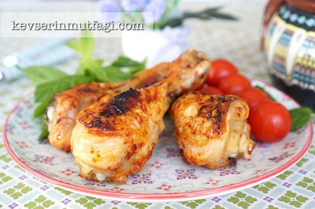 Fırında Kızarmış Tavuk Baget Tarifi