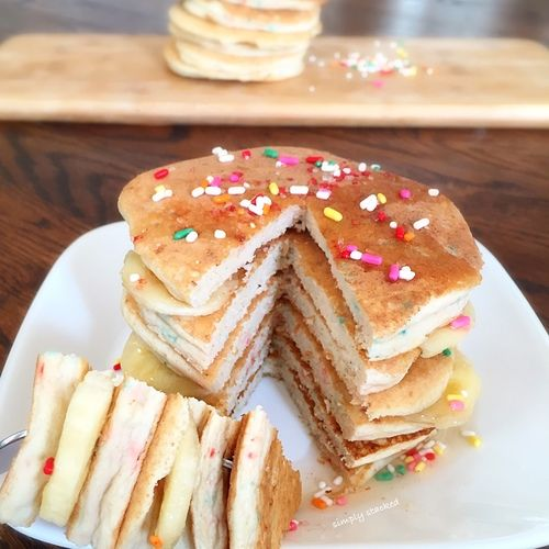 Best 25 confetti pancakes ideas on pinterest valentines day confetti protein pancakes these fluffy grain free pancakes totally resemble our favorite confetti childhood treat except these are easily a quarter of ccuart Choice Image