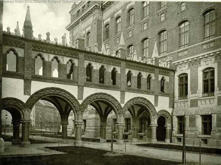 1909, Budafoki út, a Műegyetem könyvtára