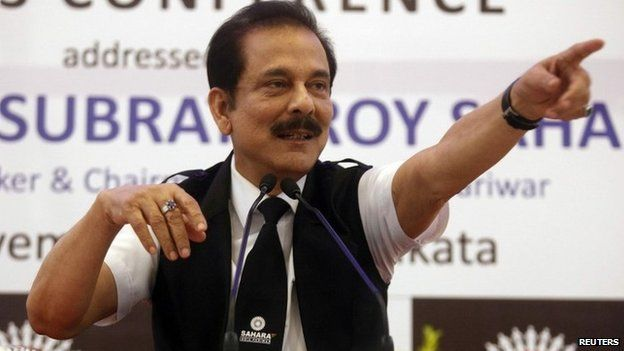 India court orders Sahara chief Subrata Roy's arrest - Source - BBC News - © 2013 BBC #India, #Subrata_Roy