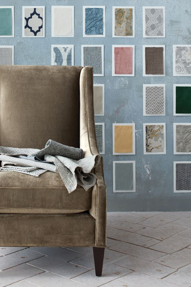 Custom Design Your Favorite Piece With Hundreds Of New Fabrics And Fine  Finishes To Choose