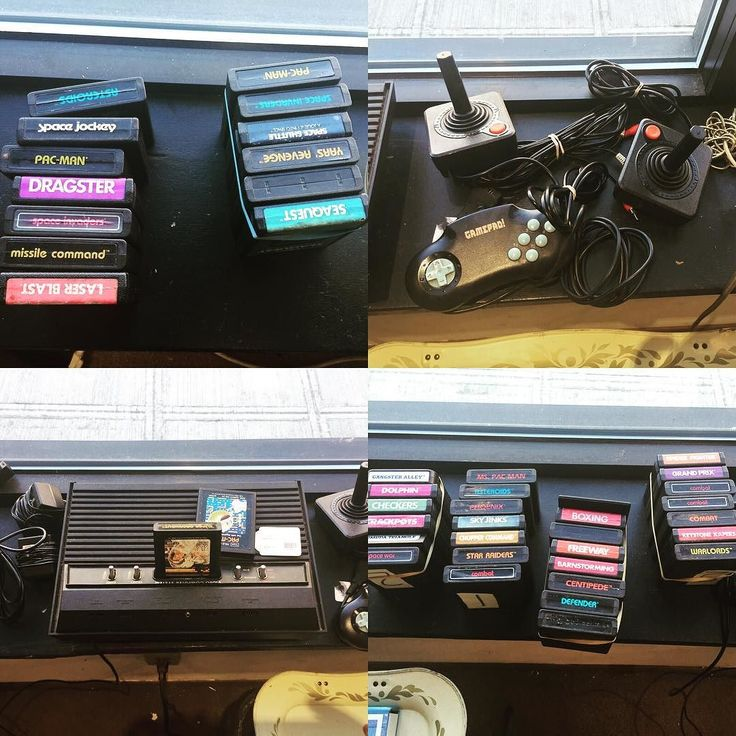 Interesting one by homeboyadvance #atari2600 #microhobbit (o) http://ift.tt/2qYksae this huge collection at a @ballardconsignment a couple weeks back. It would've been mine if I were just a bit more impulsive.  #retrogaming #atari