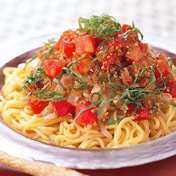 ピリ辛トマトの冷やし中華