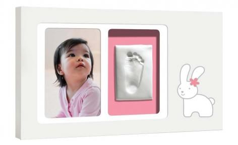 Bunny Babyprints Modern Wall Frame by Pearhead