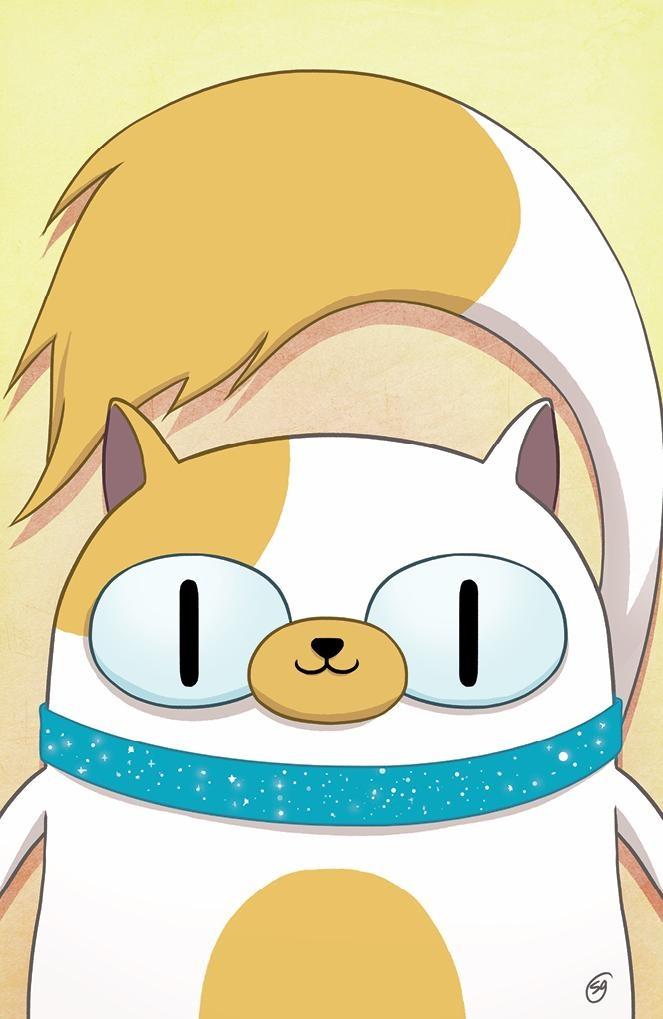 Portada exclusiva del comic-book 'Adventure Time: Fionna and Cake'.  Natasha Allegri.