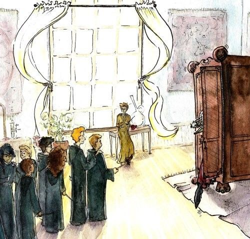 Harry Potter Fan Art - Nevilles Boggart - Watercolor Print