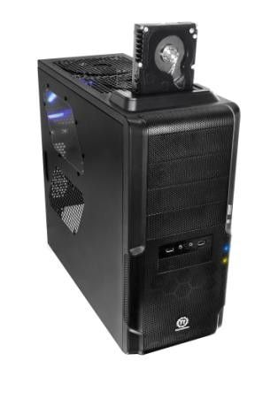 TORRE THERMALTAKE DOKKER CON DOCKING STATION NEGRO MICRO ATX (9.6PL X 9.6PL) ATX (12PLESTANDARD X 9. #specialtech
