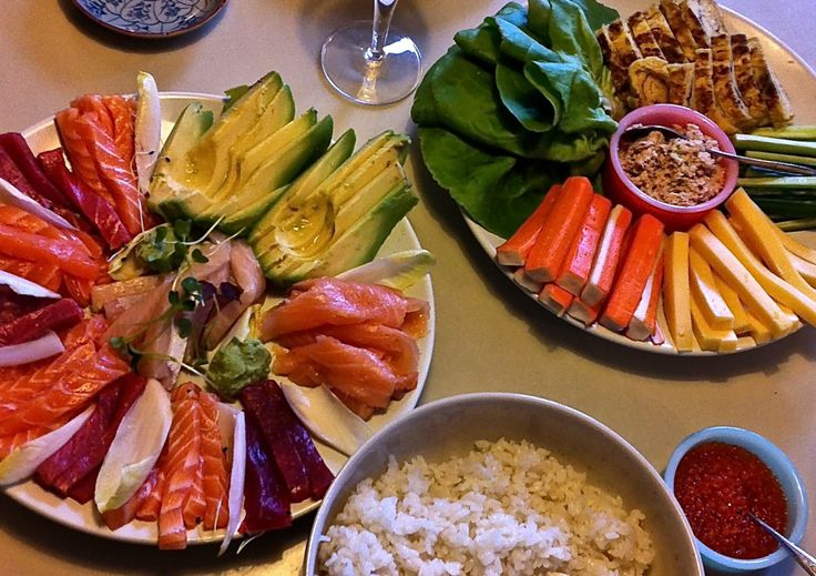 temaki-sushi 手巻き寿司パーティー♪