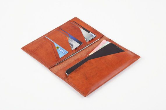 Leather Travel Wallet Travel Wallet Leather by MinkLeather on Etsy