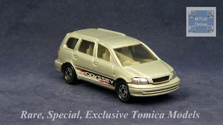 TOMICA 046D HONDA ODYSSEY RA1 | 1/66 | EXCLUSIVE GULLIVER SELECTED 1999 #JDM