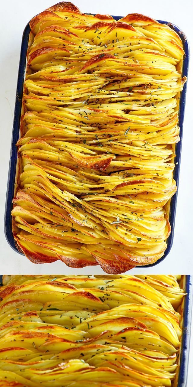 Crispy Leaf Potatoes ist das BESTE Rezept für Bra…
