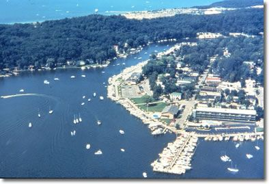Saugatuck Michigan In The Fall And Winter Is One Of The