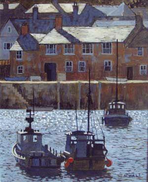 Mike Hall original 'Harbour High Tide'