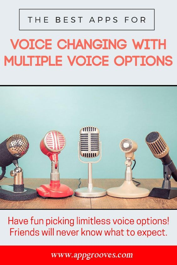 Best Voice Changer Apps with Multiple Voice Options - AppGrooves