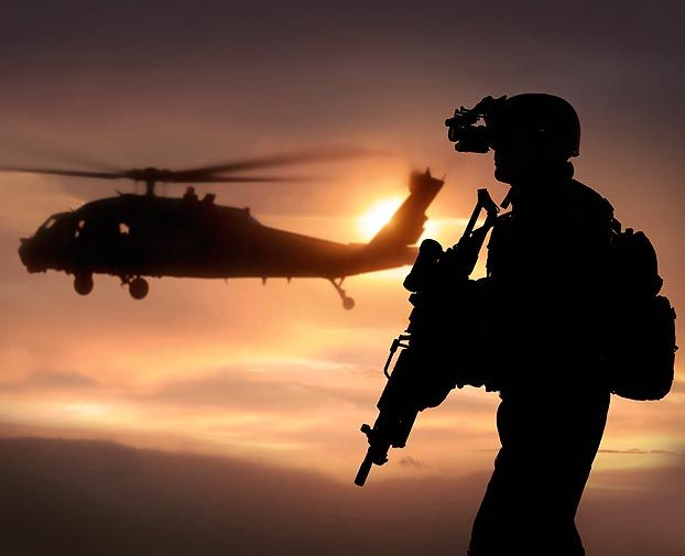 With gratitude to special operations soldiers who willingly give their lives to maintain the safety for us all.
