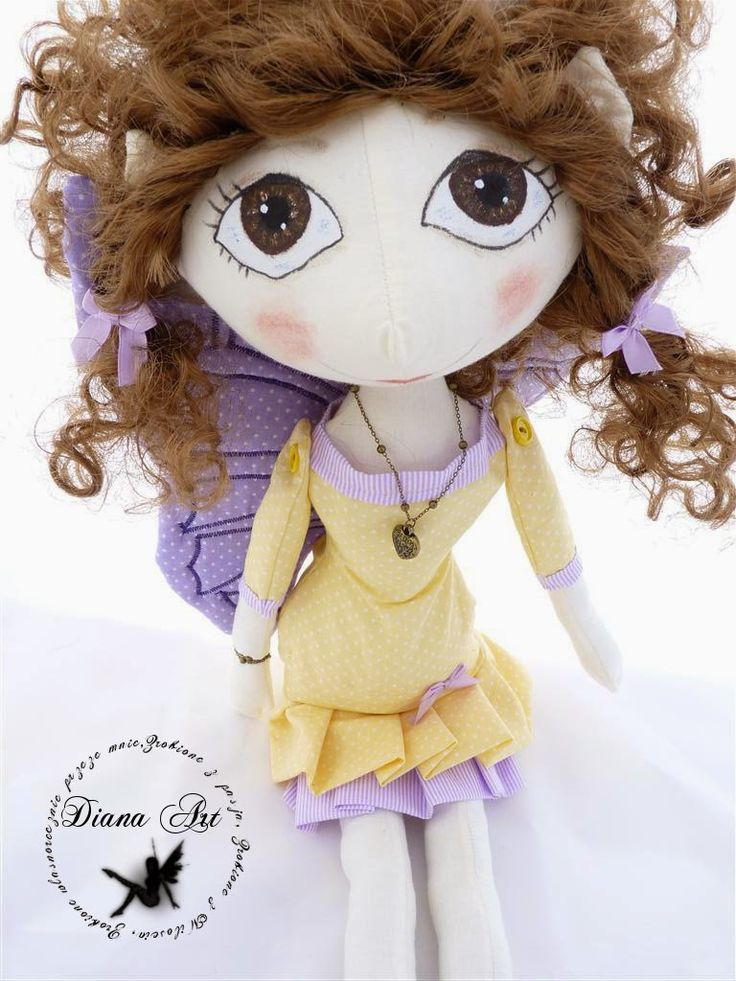 Diana Art, doll, hand made, diy, fairy, shewing