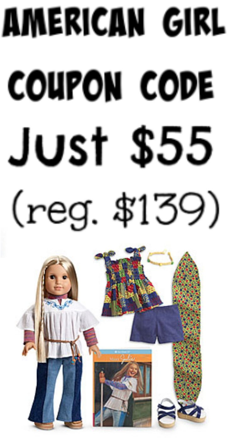 Discount coupons for american girl dolls