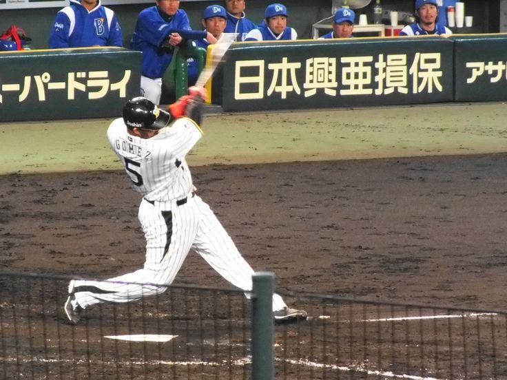 マウロ・ゴメス #hanshin #tigers #阪神タイガース