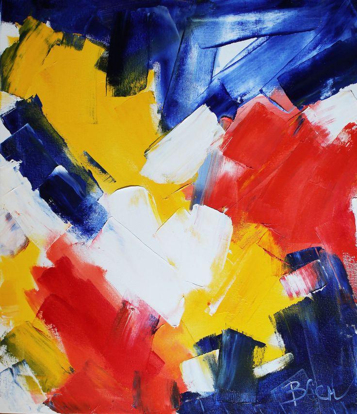 Впечатление. 6000грн70*60 см Холст\масло Картина написана в стиле абстрактный экспрессионизм, большие размашистые мазки мигом заполнили весь холст. Картины этого направления пишутся на одном дыхании, под ярким впечатлением.