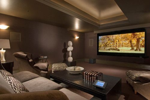 Media Room Wall Decor movie room ideas design, pictures, remodel, decor and ideas